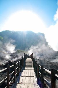 地獄谷の写真素材 [FYI01352433]