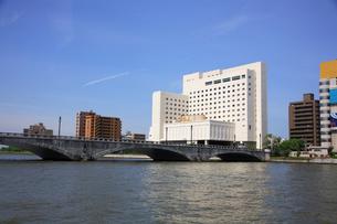 信濃川の写真素材 [FYI01352646]