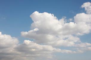 青空と雲の写真素材 [FYI01352808]