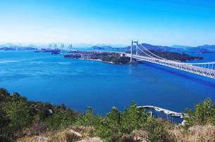 瀬戸大橋の写真素材 [FYI01354019]