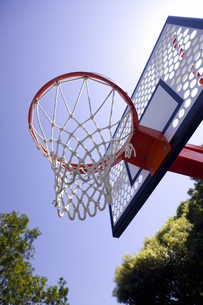 バスケットゴールの写真素材 [FYI01354434]