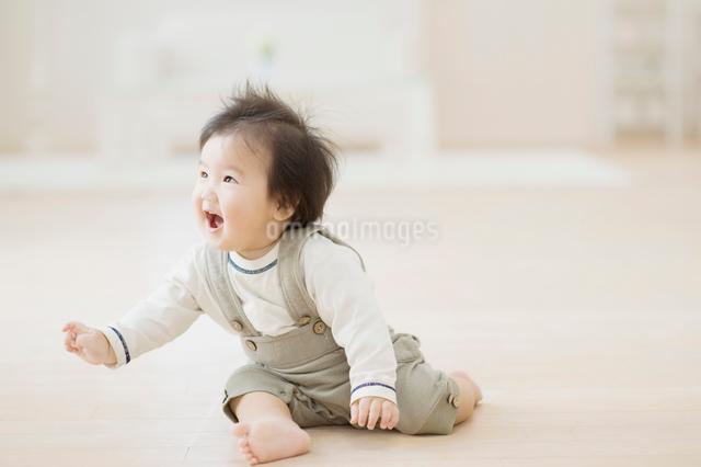 笑う赤ちゃんの写真素材 [FYI01354756]