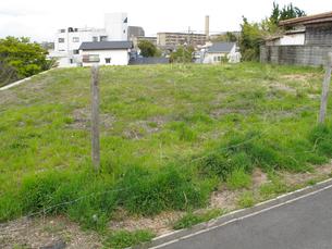 住宅用地の空き地の写真素材 [FYI01355074]