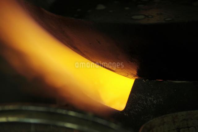 中華料理の火力の写真素材 [FYI01355455]