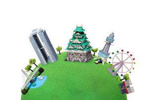 観光地クラフト 大阪の写真素材 [FYI01355733]