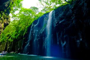 高千穂峡 真名井の滝の写真素材 [FYI01355798]