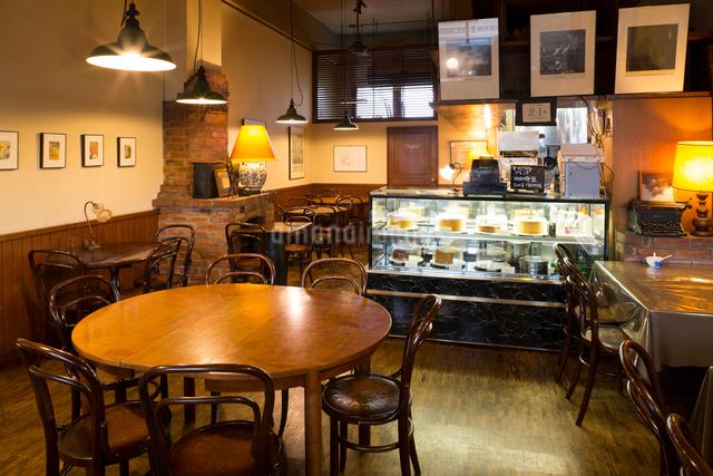 カフェの店内の写真素材 [FYI01356440]