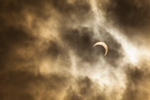 2012年の皆既日食の写真素材 [FYI01357391]