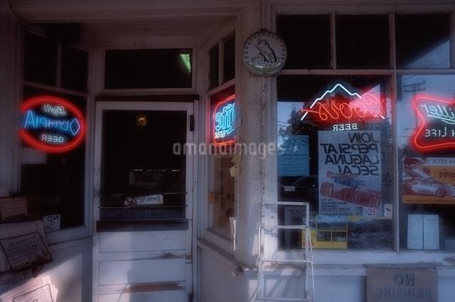 店入り口の写真素材 [FYI01357608]
