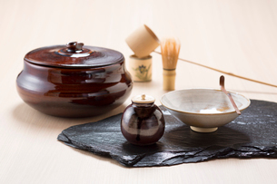 茶道具の写真素材 [FYI01358020]