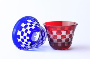 江戸切り子ガラスの写真素材 [FYI01358120]