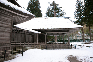 白山神社(能楽殿)の写真素材 [FYI01358418]