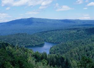 双湖台から望む風景の写真素材 [FYI01360277]