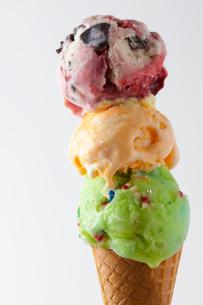 アイスクリームの写真素材 [FYI01360639]