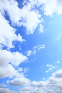青空の雲の写真素材 [FYI01360792]