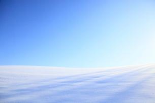 雪原と青空の写真素材 [FYI01360856]