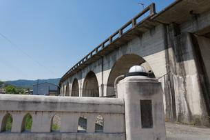 五新鉄道の橋脚の写真素材 [FYI01361755]
