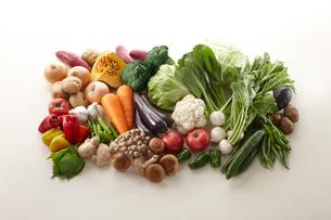 栄養素 ビタミン 野菜集合の写真素材 [FYI01362784]