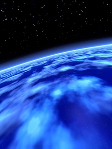 青い地球の写真素材 [FYI01362858]
