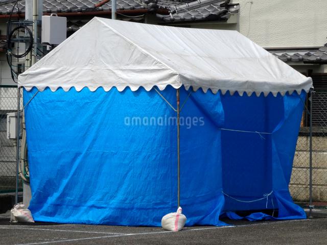 仮設テントの写真素材 [FYI01364855]
