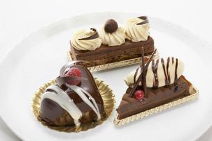 バレンタインケーキの写真素材 [FYI01365323]