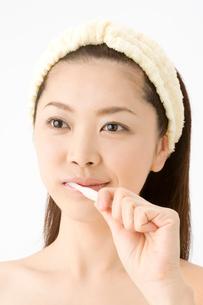 歯磨きの写真素材 [FYI01365636]