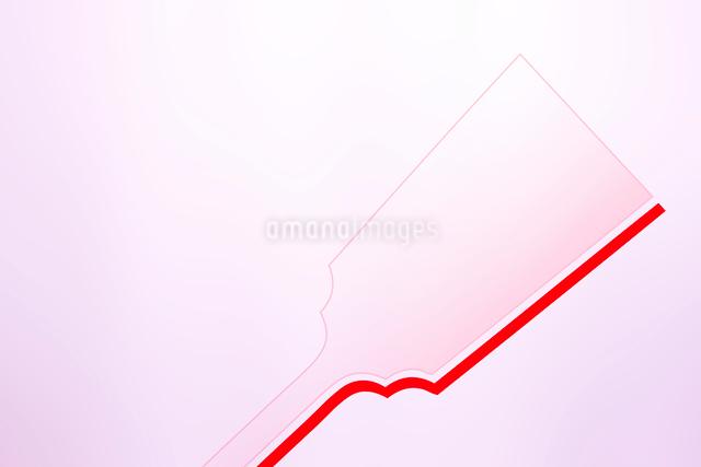 羽子板のシルエットのイラスト素材 [FYI01365785]