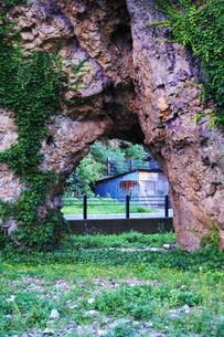 厩石公園の巨岩の写真素材 [FYI01366122]