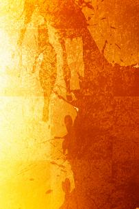 金箔と墨の柄素材の写真素材 [FYI01366257]