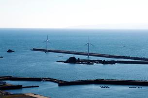 洋上風力発電の風海鳥(かざみどり)の写真素材 [FYI01366483]