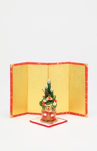 門松と金屏風の写真素材 [FYI01366905]