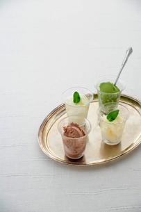 アイスクリームの写真素材 [FYI01367528]