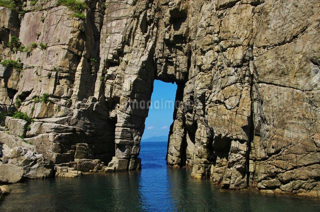 蘇洞門の大門・小門の写真素材 [FYI01367541]