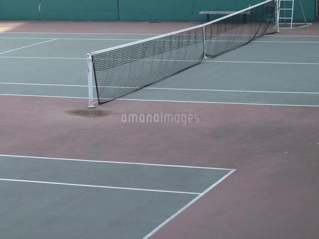 テニスコートの写真素材 [FYI01368091]