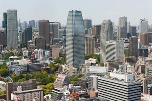 東京都港区の街並みの写真素材 [FYI01369342]