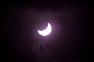 2012年オーストラリアの皆既日食の写真素材 [FYI01370197]