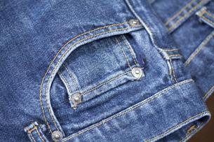 男性用のジーンズの写真素材 [FYI01371491]