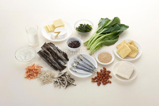 栄養素 カルシウムの写真素材 [FYI01371644]