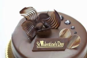 バレンタインケーキの写真素材 [FYI01373625]