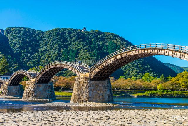 錦帯橋の写真素材 [FYI01374145]