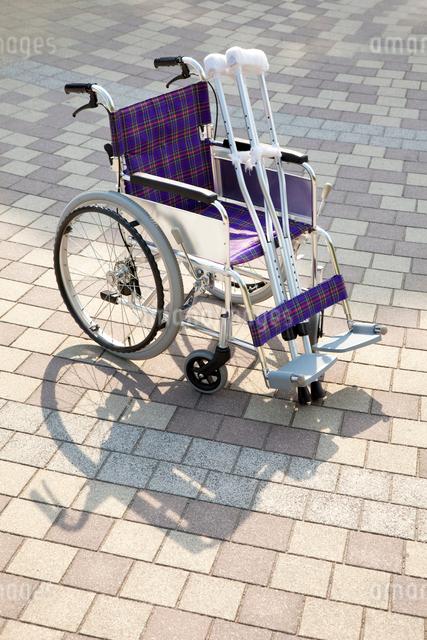車椅子の写真素材 [FYI01374552]