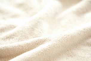毛布のドレープの写真素材 [FYI01374617]