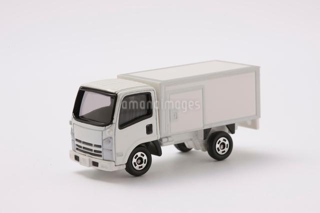 トラックのミニチュアの写真素材 [FYI01374632]