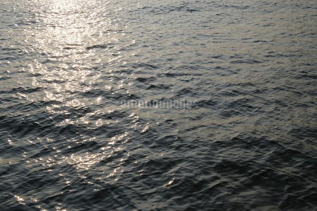 光る水面の写真素材 [FYI01374935]