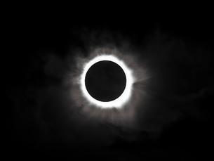 2012年オーストラリアの皆既日食の写真素材 [FYI01375864]