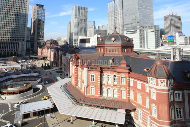 東京駅丸の内駅舎の写真素材 [FYI01376757]