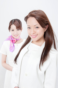 ビューティーサロンの店員とカウンセラーの写真素材 [FYI01378345]