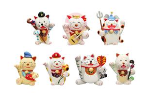 招き猫の七福神の写真素材 [FYI01378691]
