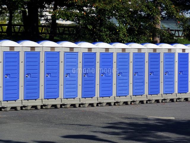 簡易トイレの写真素材 [FYI01379165]
