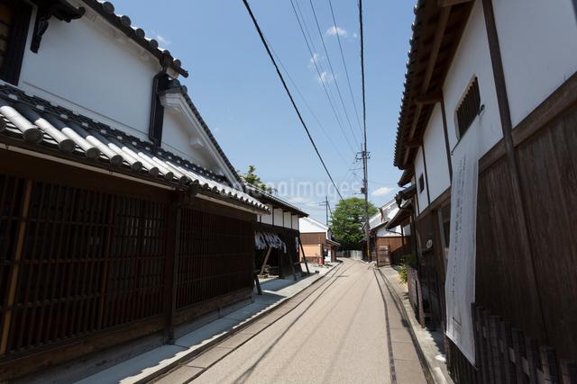 五條新町の町並の写真素材 [FYI01380152]